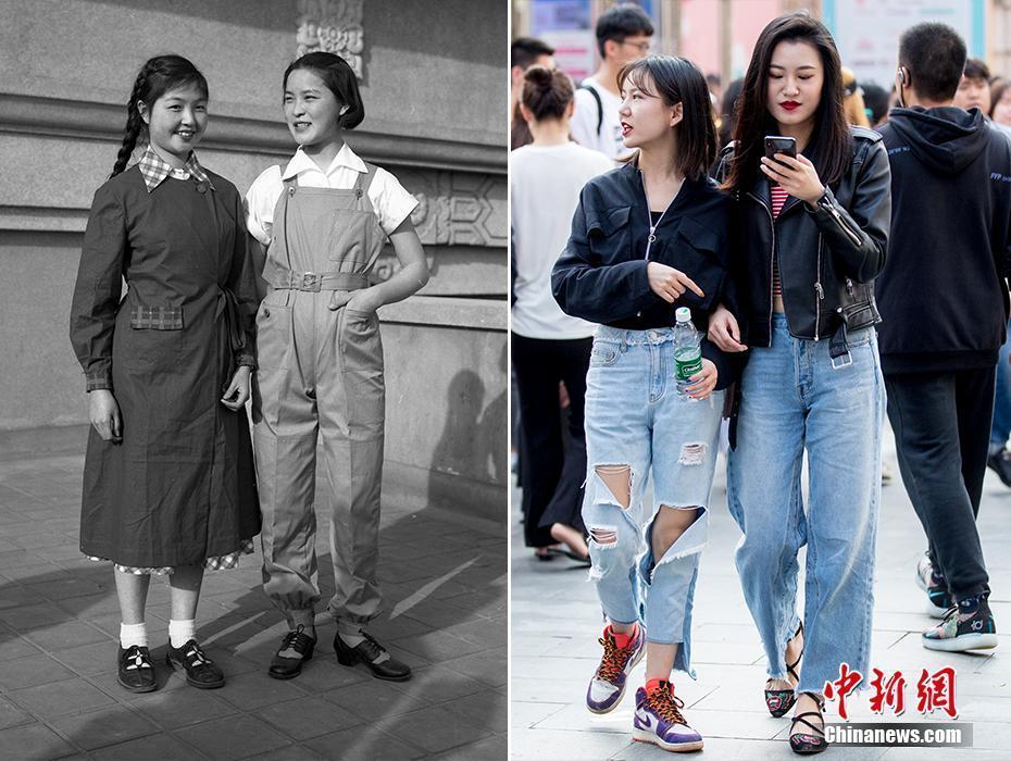 30组照片看新中国70年岁月变迁